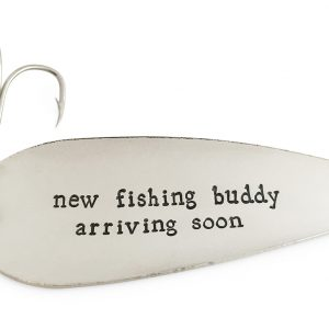 fishing baby announcement